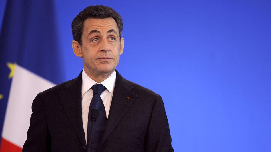 Frankreichs Präsident Sarkozy: Herber Rückschlag für Euro-Retter