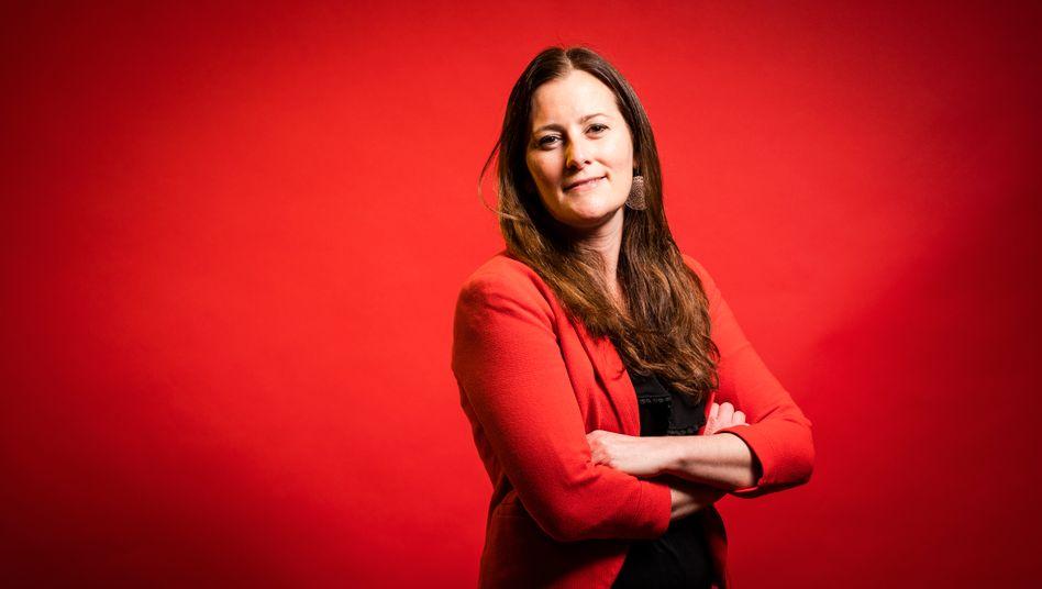 Linkenvorsitzende und Spitzenkandidatin Janine Wissler: »Ich habe mich noch nie als Trotzkistin bezeichnet«