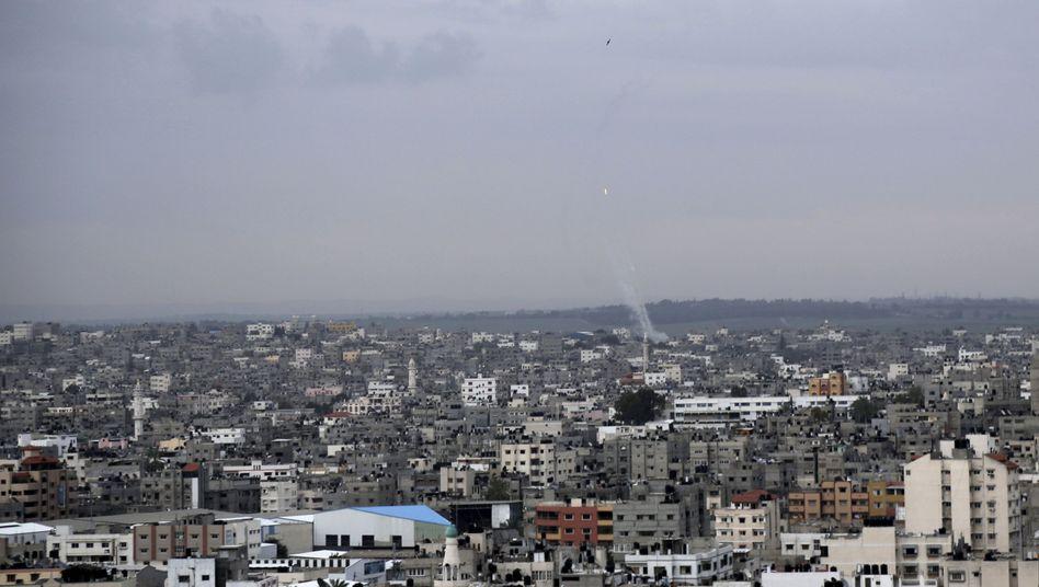 """Raketenabschuss aus Gaza: """"Unsere Antwort auf die Verbrechen der Besatzer"""""""