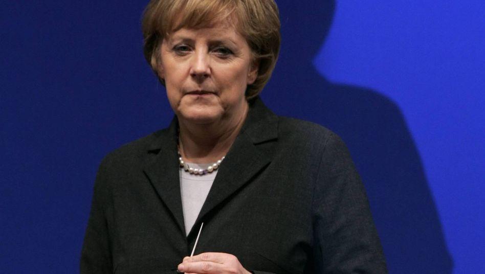"""CDU-Chefin Merkel: """"Bewusste ideologische Diffusität"""""""