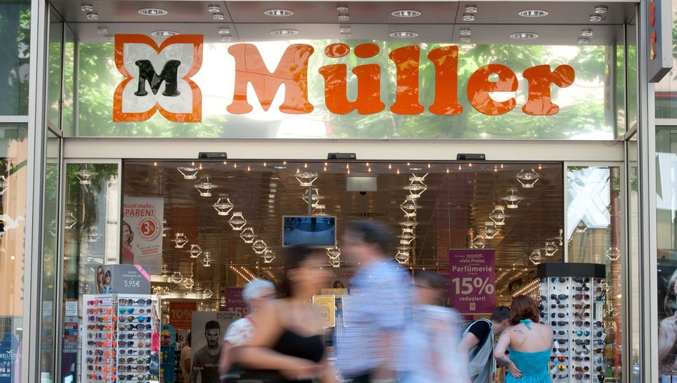 Filiale der Drogeriemarkt-Kette Müller