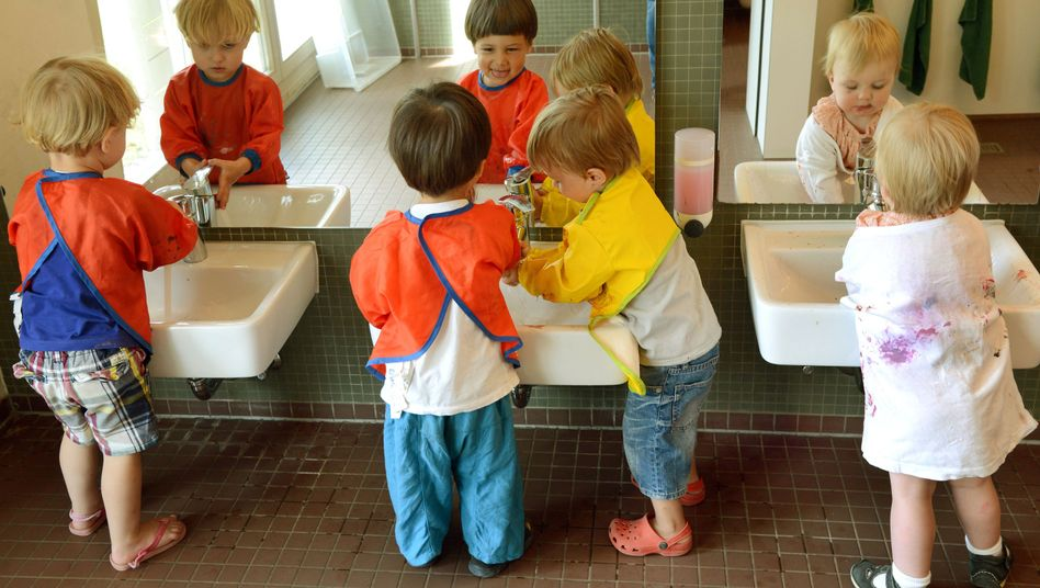 Krippenkinder in Leipzig