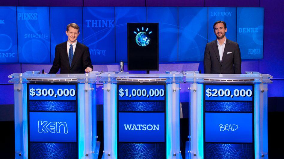 Mensch gegen Maschine: Watson schlägt die Spielshow-Meister