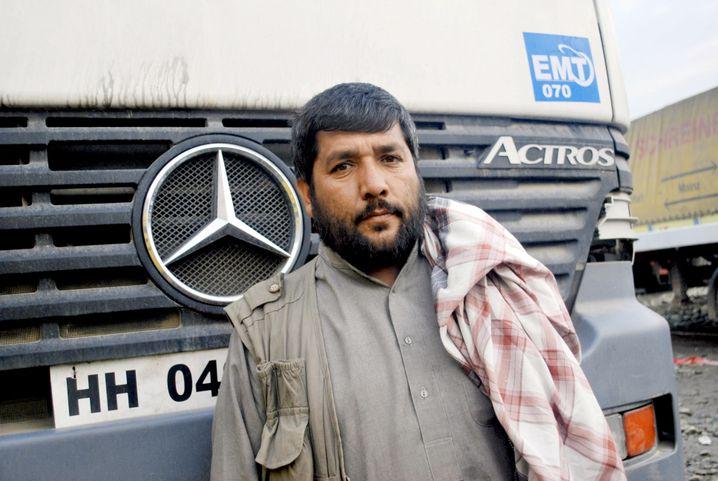 Lastwagenfahrer Malek: Der einzige Augenzeuge der Polizei