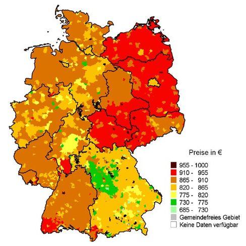 Strompreise in Deutschland: So viel zahlt ein Vier-Personen-Haushalt pro Jahr