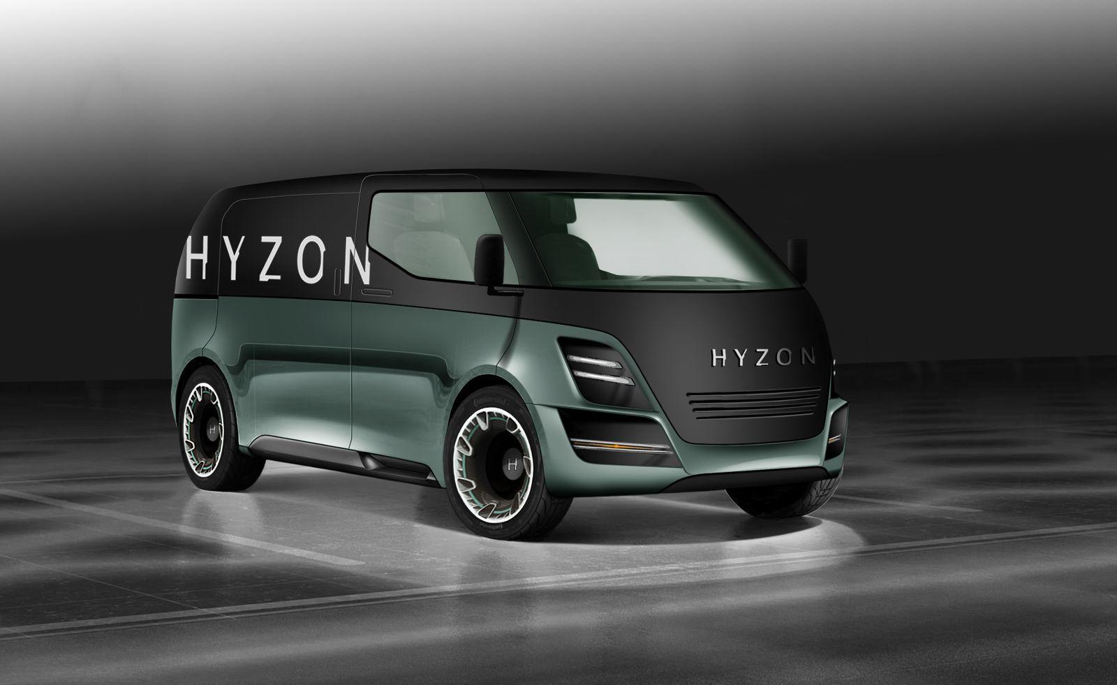 Hyzon Motors Van