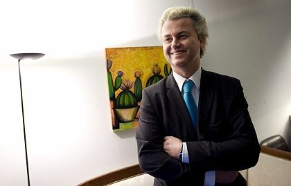 "Dutch politician Geert Wilders: A court has ruled his anti-Muslim statements ""substantially harm the religious esteem of Islamic worshippers."""