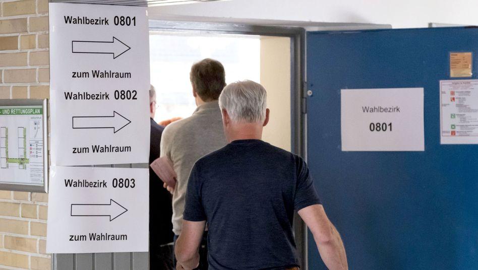 Wahllokal in Hannover