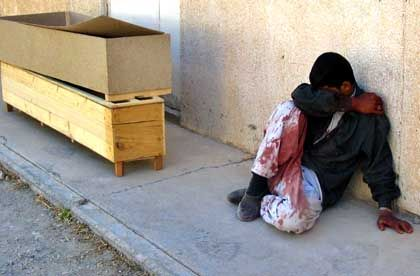 Trauer um die Toten: Niemand weiß genau, wie viele Menschen schon seit der US-Invasion 2003 im Irak gestorben sind