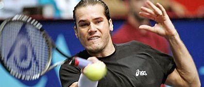 Nachteil Haas: Im Halbfinale des ATP-Turniers von Wien gelangen dem Deutschen nur wenige gute Returns