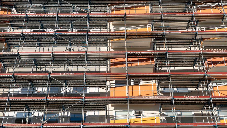 Energetische Sanierung eines Wohnhochhauses in Essen