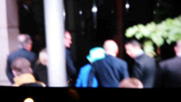 Schnappschuss von Queen-Fan Thürichen: Ankunft im Hotel Adlon