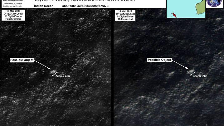 """Flug MH370: """"Wahrscheinlich die beste Spur, die wir bislang haben"""""""