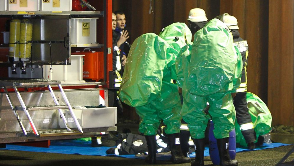 Homberg: Großeinsatz nach Chemieunfall