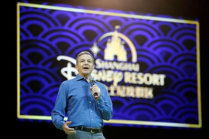 Disney-Chef und Trump-Kritiker Bob Iger