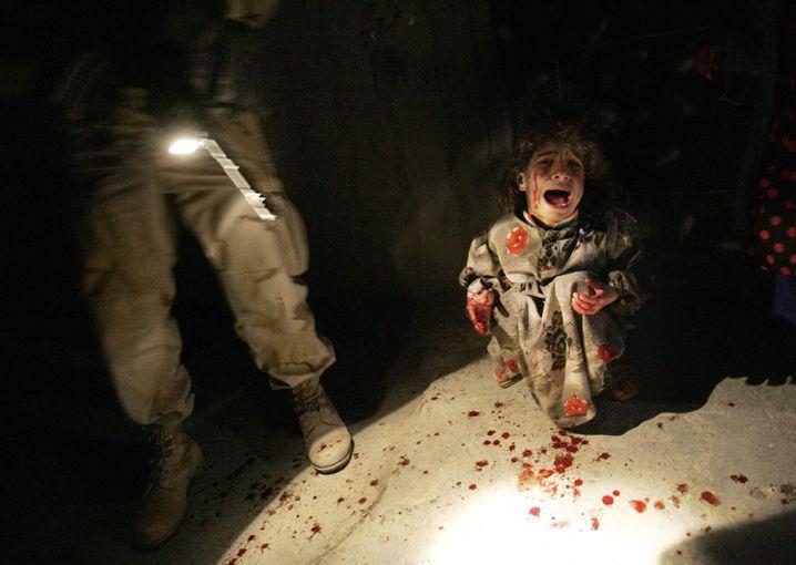 US-Soldaten haben im Januar 2005 die Eltern dieses Kindes erschossen - aus Versehen