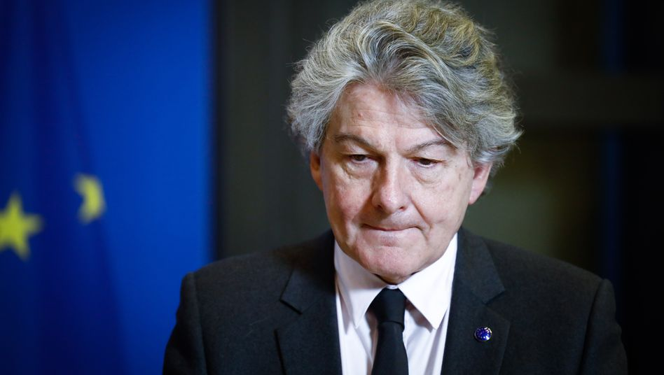EU-Kommissar Breton: »Wir sind im Plan«