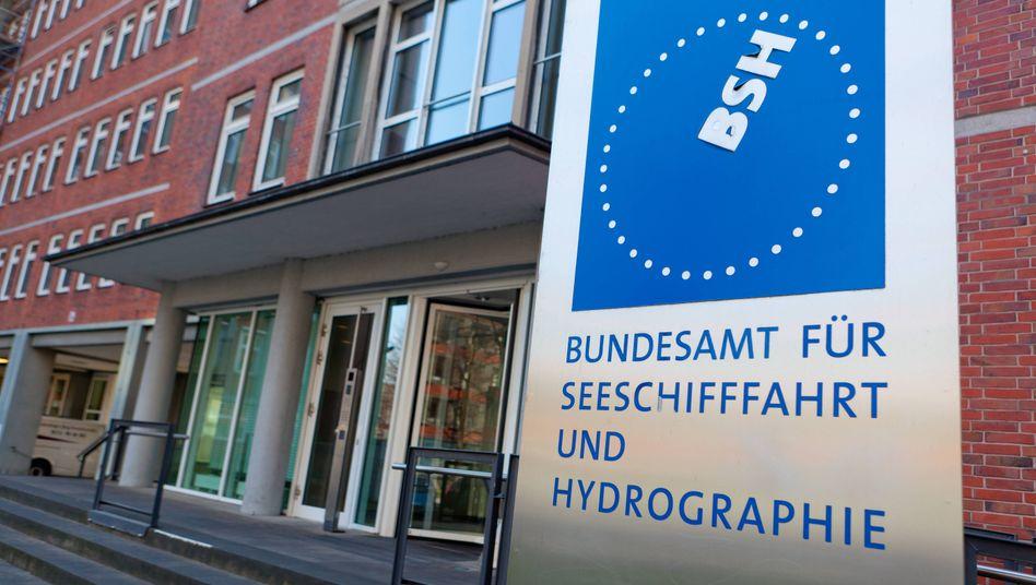 Bundesamt für Seeschifffahrt und Hydrographie in Hamburg: Keine andere Bundesbehörde betreibt ein Rechenzentrum, das den Blauen Engel verdient