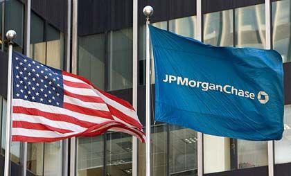 """Flagge der US-Bank JPMorgan: """"Das System hat sich stabilisiert"""""""