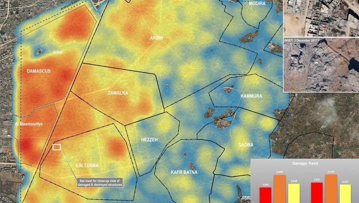 Kriegsschäden: Syrien - ein verwüstetes Land