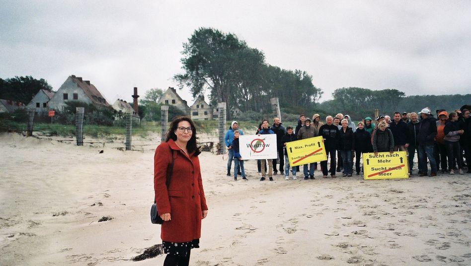 Maria Pinkis und ihre Mitstreiter von der Reriker Bürgerinititative
