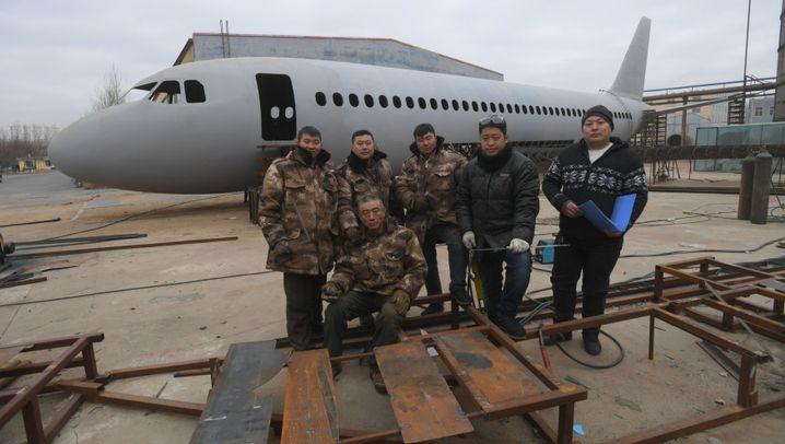 Zhu Yue aus China: Der Flugzeug-Bauer