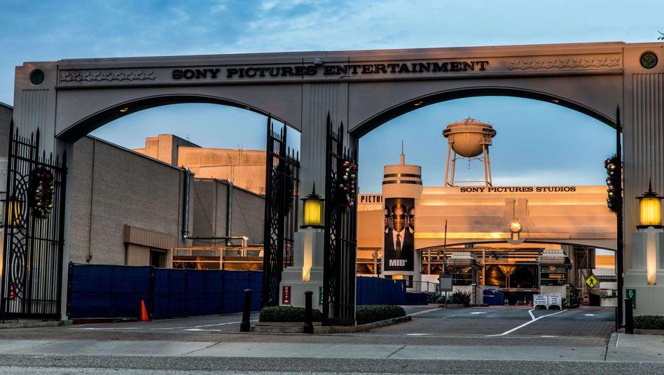 Sony-Pictures-Gebäude in Los Angeles: Nordkorea im Verdacht