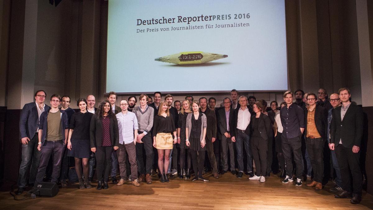 EINMALIGE VERWENDUNG Reporterpreis