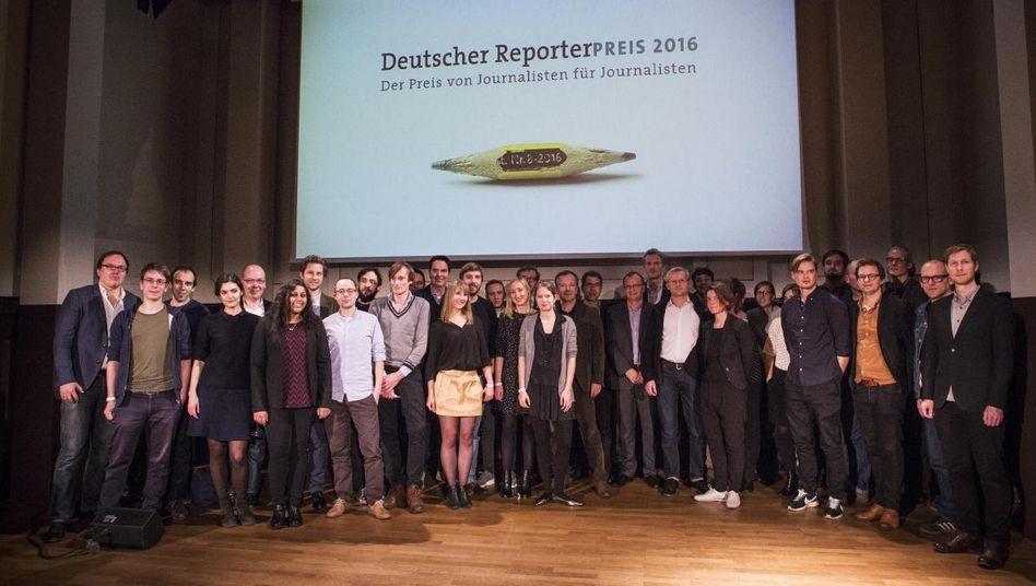 Gewinner des Reporterpreises 2016