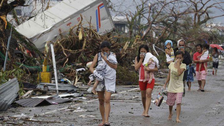 Fotostrecke: Tacloban will Kriegsrecht ausrufen