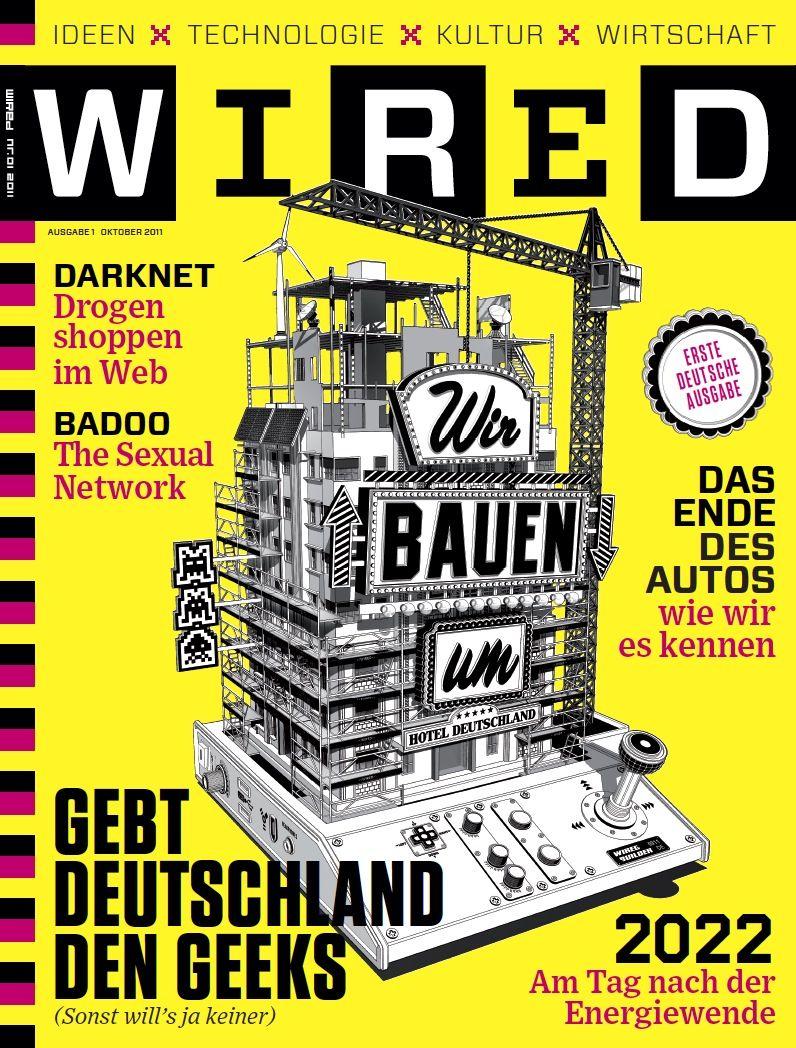 COVER Wired / NETZWELT