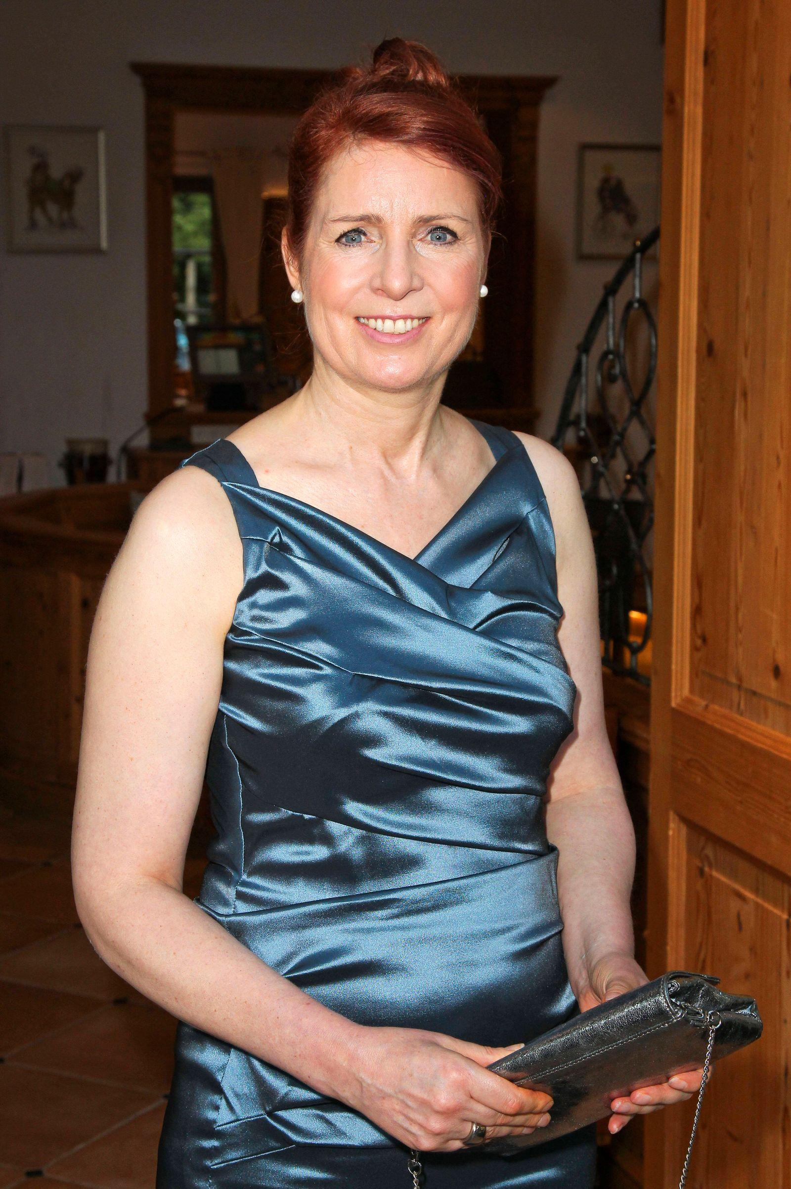 Monica Lierhaus beim 3. Dinner Royal zugunsten der Stiftung Deutsche Schlaganfall-Hilfe in der Grünwalder Einkehr. Grünw