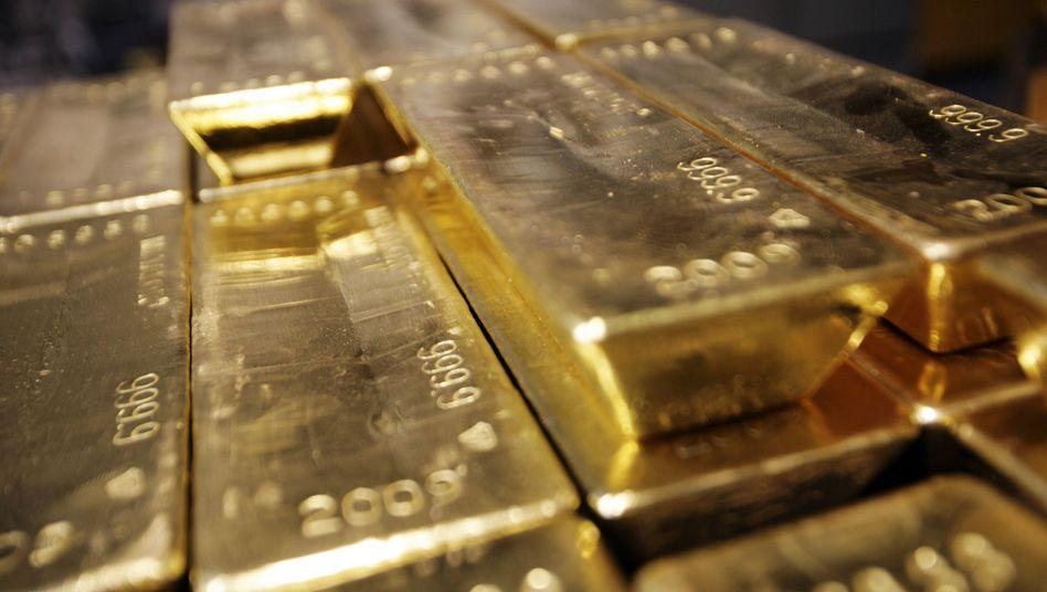 Goldschatz der Bundesbank: 700 Tonnen Gold reisen nach Frankfurt
