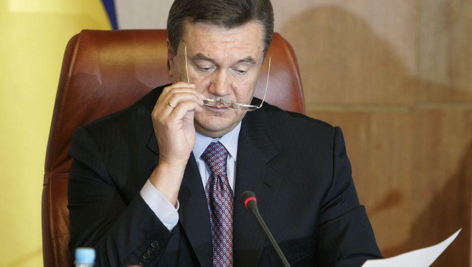 """Präsident Janukowitsch: Gehört der neue Besitzer des ukrainischen """"Forbes"""" zu seiner Entourage?"""