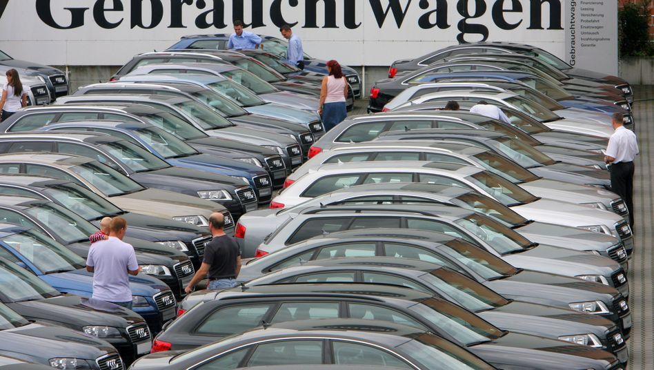 Kaufinteressenten für einen Gebrauchtwagen