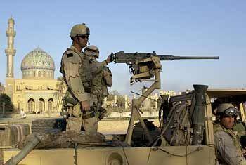 Für die US-Soldaten bedeutet jeder Tag im Irak Gefahr