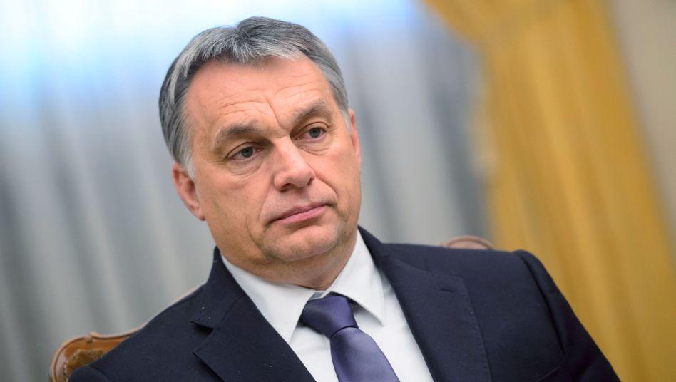 """Regierungschef Viktor Orbán: EU-Quoten stellen """"Machtmissbrauch"""" dar"""
