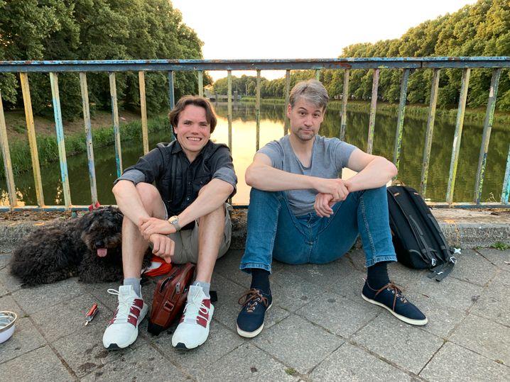 Johannes Wiggering und sein Freund Tammo Lotz: Entspannung statt Eskalation