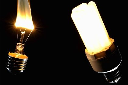 The traditional light bulb is on its way out in the European Union.