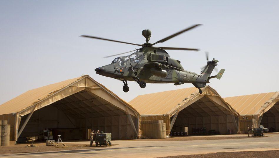 """""""Tiger""""-Kampfhubschrauber in Mali (Archivaufnahme)"""