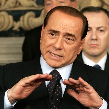 Berlusconi: Zum Reformdialog steht er bereit - nach einem Sieg