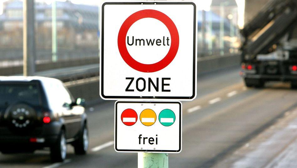 Verkehrsschild in Köln
