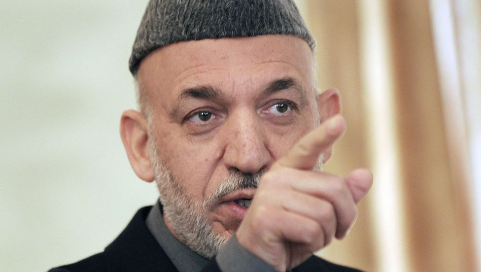 """Former Afghan President Hamid Karzai: """"I realized early into my tenure as president that this war is not our conflict."""""""