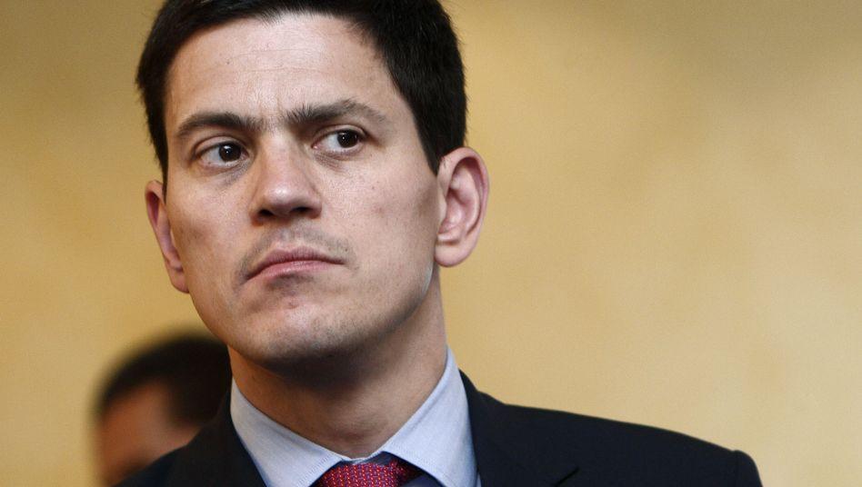 Britischer Außenminister Miliband: Der Top-Kandidat, der keiner sein will
