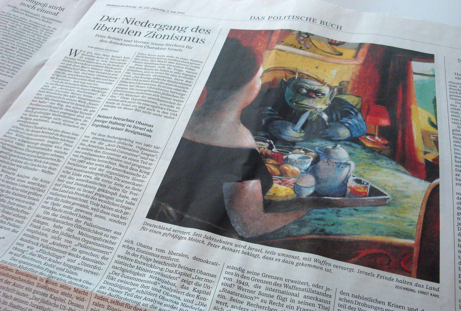 Karikatur/ Süddeutsche