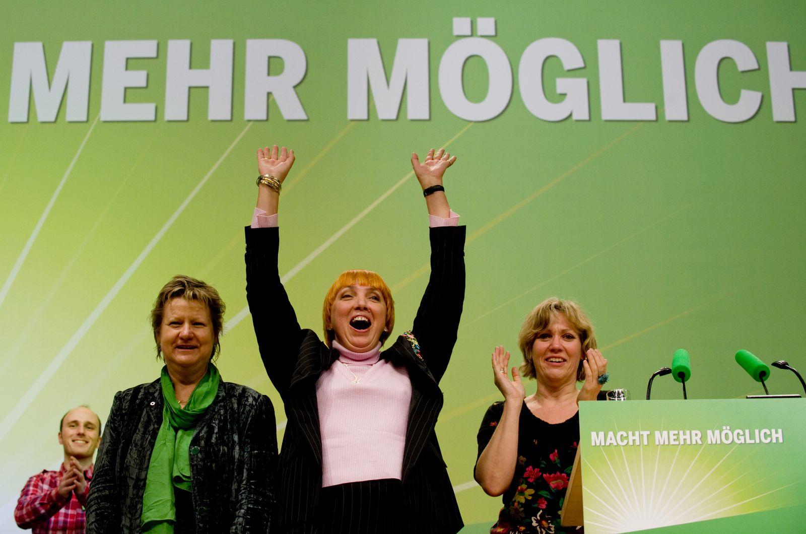 Die Grünen / Claudia Roth / Sylvia Löhrmann / Daniela Schneckenburger