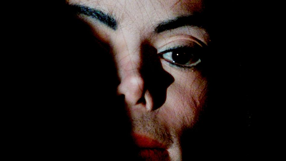 Michael Jackson im Jahre 2001
