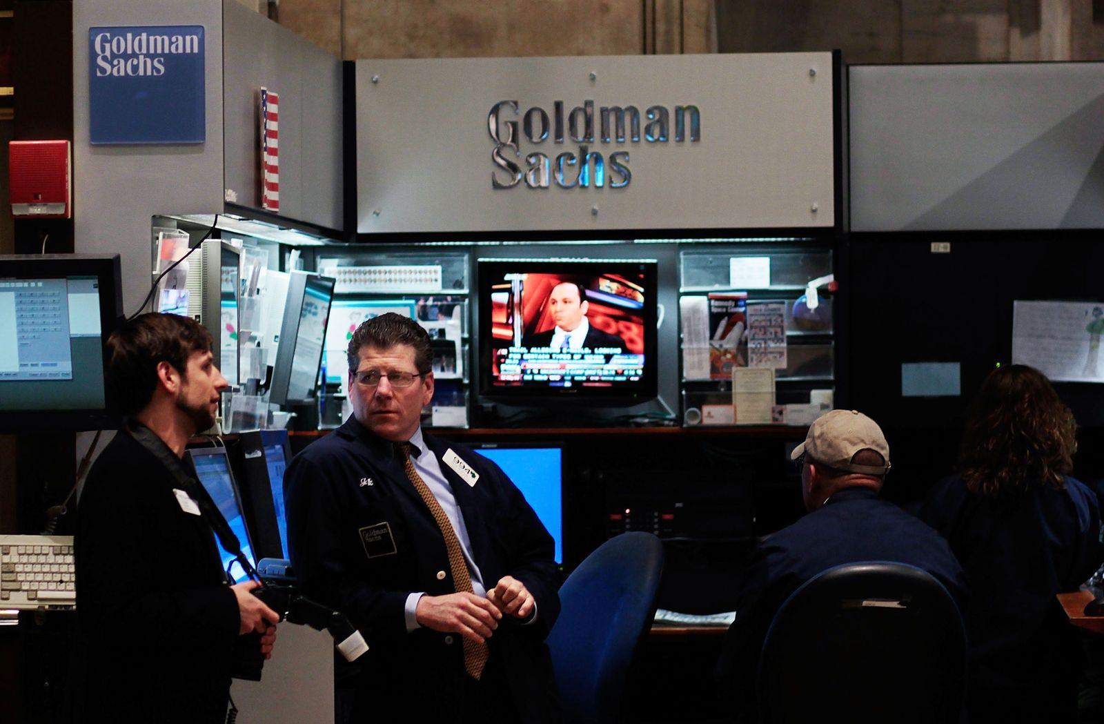 New York / Börse / Goldman Sachs