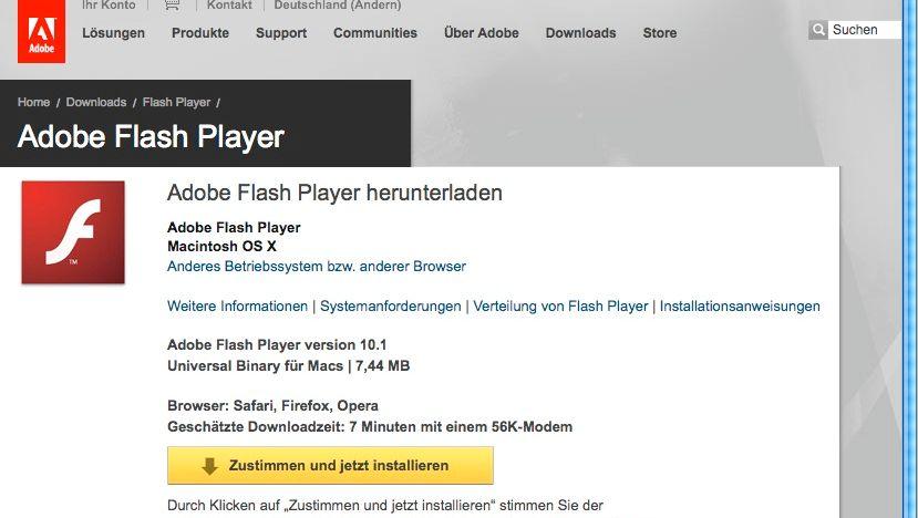 Adobe Flash Player: Neue Sicherheitslücke bekannt