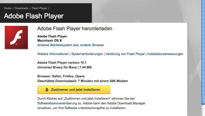 Adobe Flash Player: Sicherheitslücke macht Computer zur leichten Beute